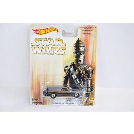 Hot Wheels 1970 Chevelle Delivery Star Wars IG-88 Bounty Hunters Series 1:64 Scale Diecast Model Car