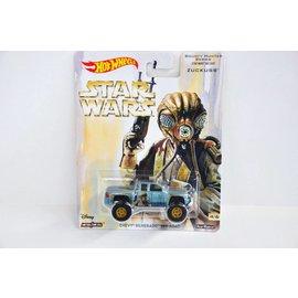 Hot Wheels Hot Wheels Chevy Silverado Off Road Star Wars Zuckuss Bounty Hunter Series 1:64 Scale Diecast Model Car