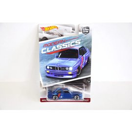 Hot Wheels Mattel Hot Wheels 1992 BMW M3 Blue Modern Classics 1:64 Scale Diecast Model Car