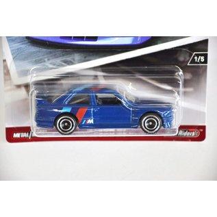 Hot Wheels Mattel Hot Wheels 1992 BMW M3 Blue Modern Classics 1:64 Scale Diecast Model Car