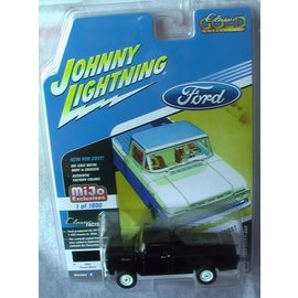 Johnny Lightning Johnny Lightning 1959 Ford F-250 Black MiJo Exclusive 2017 Series Version B 1:64 Scale Diecast Model Car