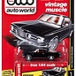 Auto World Auto World 1965 Plymouth Barracuda Black Vintage Muscle 2017 Release 3 Version A 1:64 Scale Diecast Model Car