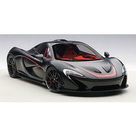 Auto Art Auto Art McLaren P1 Matt Black 1:18 Scale Composite Scale Model Car