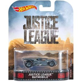 Hot Wheels Hot Wheels Justice League Batmobile Retro Entertainment 1:64 Scale Diecast Model Car