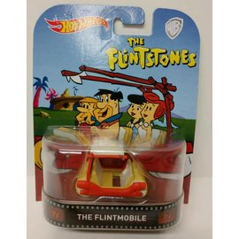 Hot Wheels Hot Wheels The Flintstones The Flintmobile Retro Entertainment 1:64 Scale Diecast Model Car
