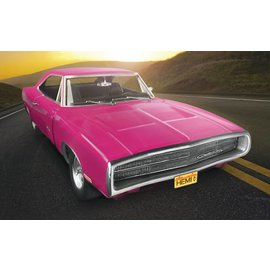 Revell-Monogram RMX Revell 1970 Dodge Charger R/T 1:25 Scale Plastic Model Kit