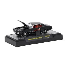 M2 Machines M2 Machines 1969 Chevrolet Camaro ZL-1 Black Camaro Fifty Series 1 1:64 Scale Diecast Model Car