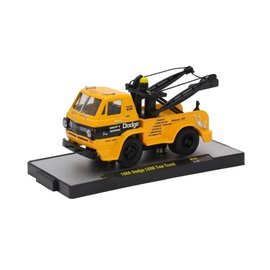 M2 Machines M2 Machines 1966 Dodge L600 Tow Truck Yellow Auto Trucks Series 44 1:64 Scale Diecast Model Car