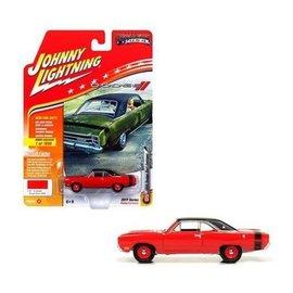 Johnny Lightning Johnny Lightning 1969 Dodge Dart Swinger Red Hobby Exclusive 2017 Series Version B 1:64 Scale Diecast Model Car