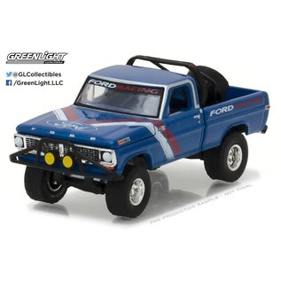 Greenlight Collectibles Greenlight 1970 Ford F-100 Blue All Terrain Series Release 5 1:64 Scale Diecast Model Car