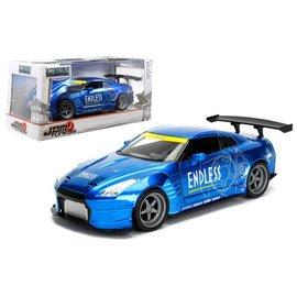 Jada Toys Jada Toys 2009 Nissan GT-R (R35) Ben Sopra Blue JDM Tunerz 1:24 Scale Diecast Model Car
