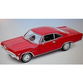 Welly Die Casting 1965 Chevrolet Impala SS 396 Red Welly 1:24 Diecast