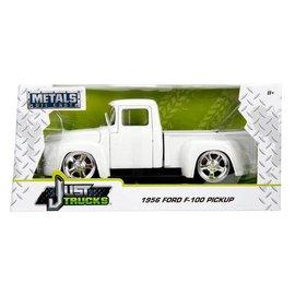 Jada Toys Jada Toys 1956 Ford F-100 Pickup Truck White Just Trucks Series 1:24 Scale Diecast Model Car