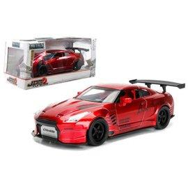 Jada Toys Jada Toys 2009 Nissan GT-R (R35) Ben Sopra Red JDM Tunerz 1:24 Scale Diecast Model Car
