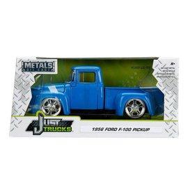 Jada Toys Jada Toys 1956 Ford F-100 Pickup Truck Blue Just Trucks Series 1:24 Scale Diecast Model Car
