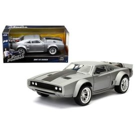 Jada Toys Jada Toys Dom's Ice Charger Gray Fast & Furious F8 1:24 Scale Diecast Model Car
