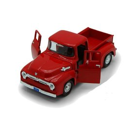 Motor Max Motor Max 1956 Ford F-100 Pickup Truck Red 1:24 Scale Diecast Model Car