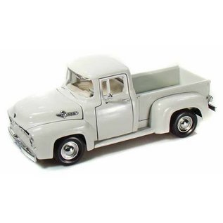 Motor Max Motor Max 1956 Ford F-100 Pickup Truck White 1:24 Scale Diecast Model Car