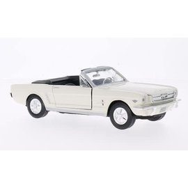 Motor Max Ford Mustang Convertible White Motor Max 1:24 Diecast