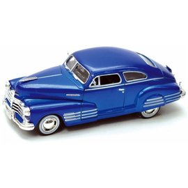 Motor Max Motor Max 1948 Aerosedan Fleetline Blue 1:24 Scale Diecast Model Car