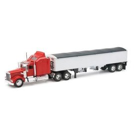 New Ray Kenworth W900 Grain Truck Red New Ray 1:32 Diecast
