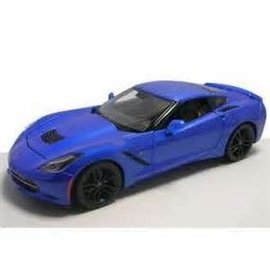 Maisto 2014 Chevy Corvette Stingray Z51 Blue Maisto 1:18 Diecast