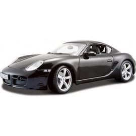 Maisto Porsche Cayman S Black Maisto 1:18 Scale Diecast Model Car