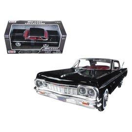 Motor Max Motor Max 1964 Chevrolet Impala Black 1:24 Scale Diecast Model Car