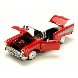 Motor Max Motor Max 1957 Chevy Bel Air Red 1:24 Scale Diecast Model Car