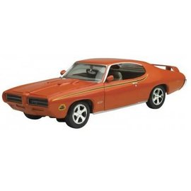 Motor Max Motor Max 1969 Pontiac GTO Judge Orange 1:24 Scale Diecast Model Car