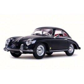 Sun Star Sun Star 1957 Porsche 356A 1500 GS Carrera GT Black 1:18 Scale Diecast Model Car