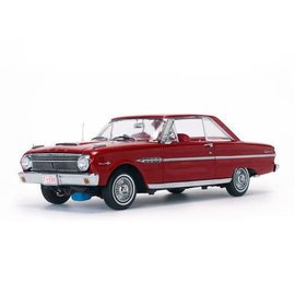Sun Star Sun Star 1963 Ford Falcon Hard Top Red 1:18 Scale Diecast Model Car