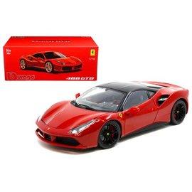 Bburago Bburago Ferrari 488 GTB Red 1:18 Scale Diecast Model Car