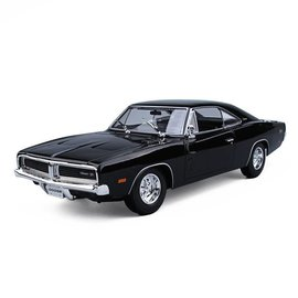 Maisto Maisto 1969 dodge Charger R/T Black 1:18 Scale Diecast Model Car