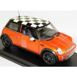 Maisto Maisto Mini Cooper Orange 1:18 Scale Diecast Model Car