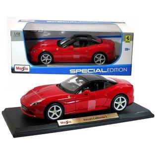 Maisto Maisto Ferrari California T Red 1:18 Scale Diecast Model Car