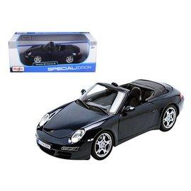 Maisto Maisto Porsche 911 Carrera S Cabriolet Blue 1:18 Scale Diecast Model Car