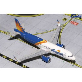 Gemini Jets Gemini jets Allegiant Air Airbus A320 1:400 Scale Diecast Model Airplane