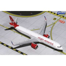 Gemini Jets Gemini jets Virgin America Airbus A321 NEO 1:400 Scale Diecast Model Airplane