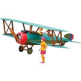Revell-Monogram RMX Revell Scooby-Doo Bi Plane Build & Play Snap Tite Model Kit
