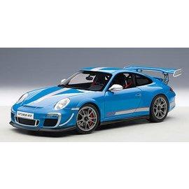 Auto Art Auto Art Porsche 911 (997) GT3 RS Light Blue 1:18 Scale Diecast Model Car