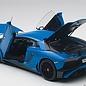 Auto Art Auto Art Lamborghini Aventador LP750-4 SV LeMans Blue 1:18 Scale Diecast Composite Model Car