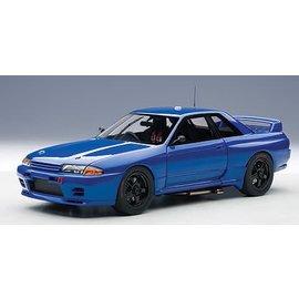 Auto Art Auto Art Nissan Skyline GT-R (R32) Plain Body Bayside Blue 1:18 Scale Diecast Model Car