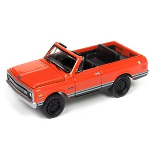 Johnny Lightning Johnny Lightning 1970 Chevy Blazer Orange Classic Gold 2017 Series Release 3 1:64 Scale Diecast Model Car