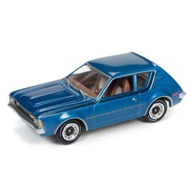 Johnny Lightning Johnny Lightning 1972 AMC Gremlin Blue Classic Gold 2017 Series Release 3 1:64 Scale Diecast Model Car