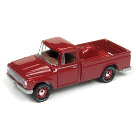 Johnny Lightning Johnny Lightning 1965 International 1200 Pickup Red Classic Gold 2017 Series Release 3 1:64 Scale Diecast Model Car