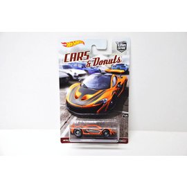 Hot Wheels Hot Wheels McLaren P1 Orange Cars And Donuts Car Culture Series 1:64 Scale Diecast Model Car