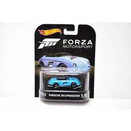 Hot Wheels Hot Wheels Porsche 356 Speedster Light Blue Forza Motorsport Retro Entertainment 1:64 Scale Diecast Model Car