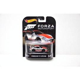 Hot Wheels Hot Wheels Porsche 911 GT3 RS Forza Motorsport Retro Entertainment 1:64 Scale Diecast Model Car