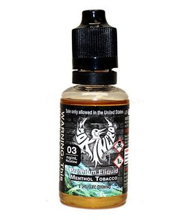 Smokin Crow Smokin Crow  - 30ML - Menthol Tobacco